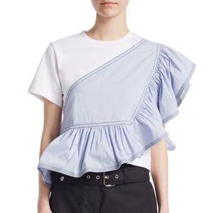 3.1 Phillip Lim Ruffle T Shirt